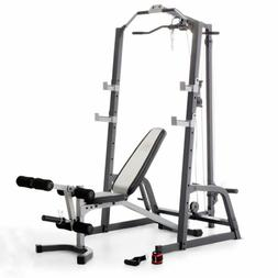 Marcy Pro Power Cage System &Utility Bench