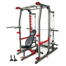 Marcy Pro Smith Machine Home Gym Training System Cage | SM-4