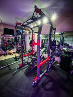 Marcy Pro Smith Machine Home Gym Training System Cage