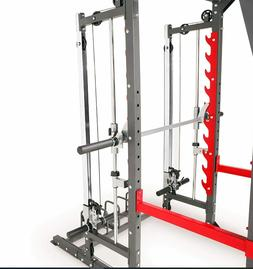 Marcy Pro Smith Machine Weight Home Gym Total Body Bench Tra