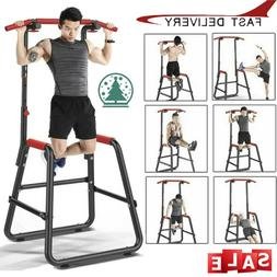 Pull Up Bar Parallel Bar Dip Stand Dip Station Home Gym Exer
