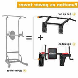 OneTwoFit Multifunctional Wall Mounted Pull Up Bar Chin Up l