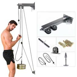 Pulley Cable Home Gym Accessories Strength Training Apparatu