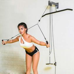 Pulley Cable Home Gym Equipment Strength Training Apparatus