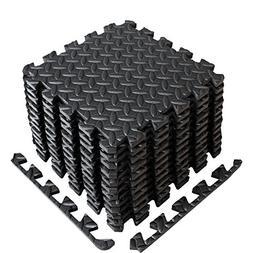 A2ZCare Puzzle Exercise Mat with EVA Foam Interlocking Tiles
