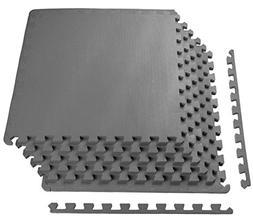 ProsourceFit Puzzle Exercise Mat, EVA Foam Interlocking Tile