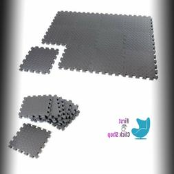 """New Barbell Puzzle Mat 0.5"""" Thick Total Of 24 Sq Ft - 6 Piec"""