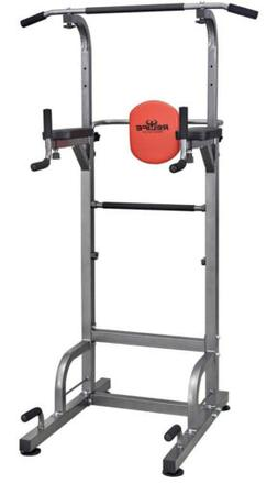 RELIFE REBUILD YOUR LIFE Power Tower Workout Dip Station for