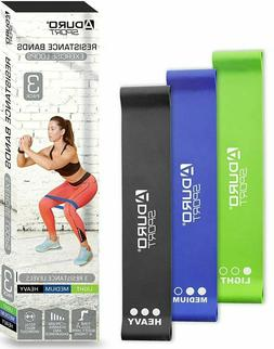 Aduro Resistance Bands Loop Set Strength Exercise Fitness Gy