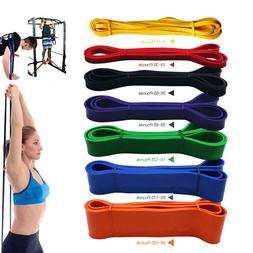 Resistance Exercise Bands Tube Home Gym Fitness Premium Natu