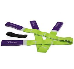 Resistance Exercise Yoga Bands & Door Anchor Kit – Ideal f