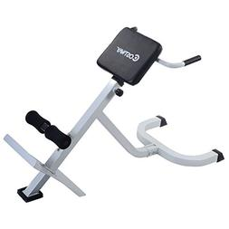 Costway Roman Chair Hyperextension Bench Back Abdominal Exer