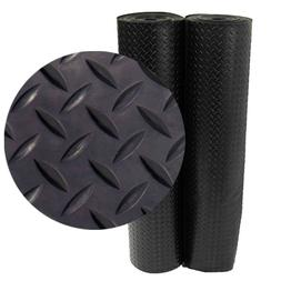 Rubber Flooring Rolls For Home And Gym Diamond Plate Floor B