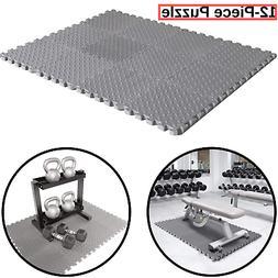 Rubber Garage Floor Mats Weight Bench Flooring Home Gym Exer