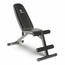 Marcy Multi-Position Workout Utility Bench for Home Gym Weig