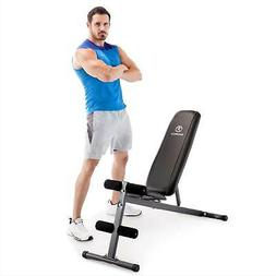 Marcy Exercise Utility Bench for Upright, Incline, Decline,