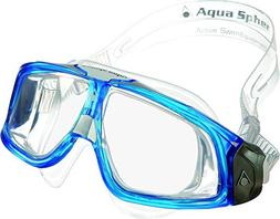 Aqua Sphere Seal 2.0 Clear Lens New Swimming Goggle - Blue F