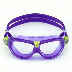 Aqua Sphere Seal Kid 2 Swim Goggle - Violet w/ Lime Accent C