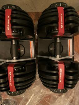 Bowflex SelectTech 552 Adjustable dumbbells set dumbbell Pai