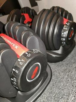 Bowflex SelectTech 552 Adjustable Dumbbells Set
