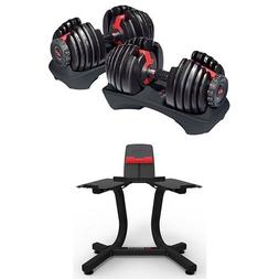 Bowflex SelectTech 552 Adjustable Dumbbells  and Stand Bundl