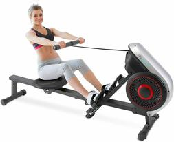Rowing Machine – Air and Magnetic Resistance Rower – Hom