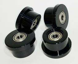 Set of 4 Wheels/rollers for Total gym models Achiever Force