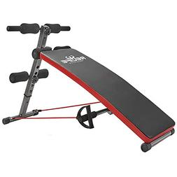 RELIFE REBUILD YOUR LIFE Sit Up Bench Adjustable Workout Fol