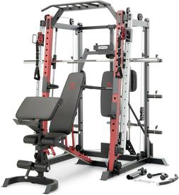 smith machine cage system home gym multifunction