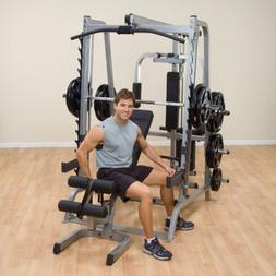 Body Solid Series 7 Smith Gym Package w/ 400 lb Weight Set G
