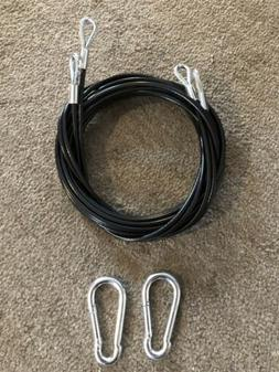 """Bowflex 151"""" Rod Attachment Cables For Xtreme 2 And Xtreme 2"""