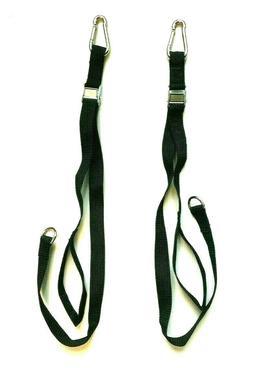 squat bar lat tower straps pair xtreme