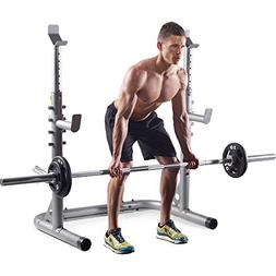 Squat Rack Workout Weight Olympic Barbell Adjustable Press S