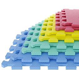 TG Foam Mat Floor Tiles, Interlocking EVA Foam Padding by St