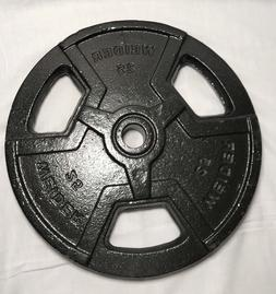 standard 1 single 25 lbs weight plates