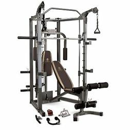Home Gym Smith Machine | SM-4008 Weight Training Circuit Cag
