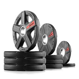 XMark's TEXAS STAR 65 lb. Select Rubber Coated Olympic set X