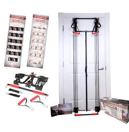 Tower 200 TM Door Gym Exercise Fitness Full Body Gym with St