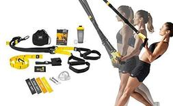 TRX All In One Home Gym Bundle: Includes All-In-One Suspensi