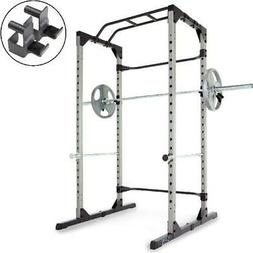 Training Power Rack Cage 800LB Capacity for Olympic Bars Pul