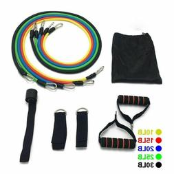 Tubes Rubber Bands Equipment Fitness Resistance Expanded Phy