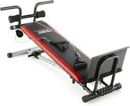 Weider Ultimate Body Works Bench Professional Workout Guide