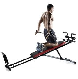Weider Ultimate Body Works Bench w /Professional Workout Gui