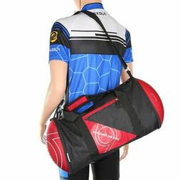 Unisex Football Shape Gym Sport Duffel Bag Travel Vacation H