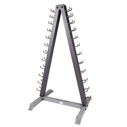 Body-Solid Vertical Dumbbell Rack , Grey/Black