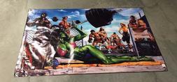 Weider gym equipment bar poster bench press she Hulk banner