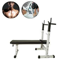 Weight Bench Incline Strength Training Press Fitness Home Gy
