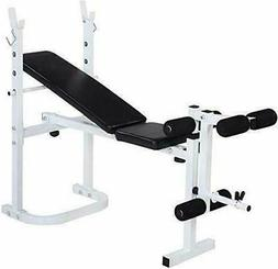 Weight Lifting Bench Fitness Gym Home Exercise Adjustable In