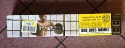 Golds Gym Weightlifting Bar Strength Training Home Gym Equip