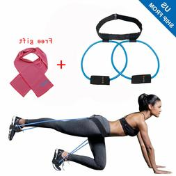 Women Booty Butt Exercise Band Home Workout Resistance Belt